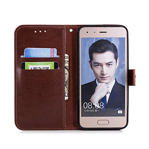 Funyye-Sottile-Morbida-Portafoglio-Custodia-per-Huawei-Honor-9Premium-Fiore-Della-Prugna-Design-PU-Leather-Magnetico-Flip-con-Supporto-Stand-Porta-Carte-Custodia-Bumper-ProtettivoFull-Body-Ultra-Anti-