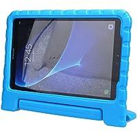 Theoutlettablet® Funda protección diseñada Especialmente para los niños Kids para Galaxy Tab A 10.1(SM-T580/T585) Color Azul