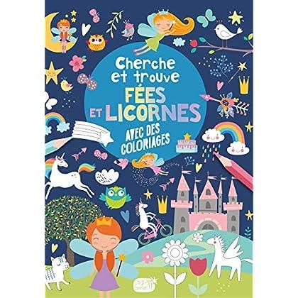 Cherche et trouve - Les fées et les licornes