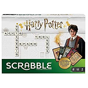 Mattel Games- Scrabble Harry Potter, Juego de Mesa (GPW40)