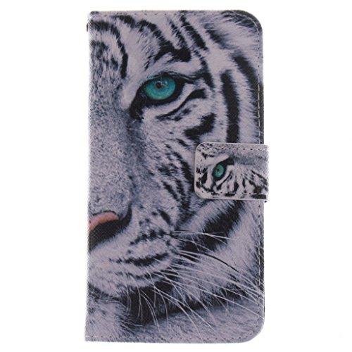 SATURCASE LG G2 Hülle, PU Leder Flip Brieftasche Standfunktion Kartenschlitze Tasche Hülle Schutzhülle Handycover für LG G2 D802 (G2 Handy-fall Für Lg)