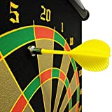 #8: Tavakkal® High Magnetic Power with Double Faced Portable and Foldable Magnetic Dart Game with Free 6 Colourful Magnetic Pointed Darts (15 inch)