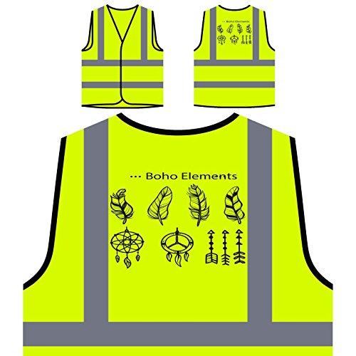 boho-animals-beautiful-hunter-funny-personalized-hi-visibility-yellow-safety-jacket-vest-waistcoat-b