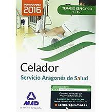 Celador del Servicio Aragonés de Salud (SALUD-Aragón). Temario Materia Específica y test