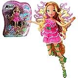 Winx Club - Mythix Fairy - Hada Flora Muñeca 28cm con cetro Mythix
