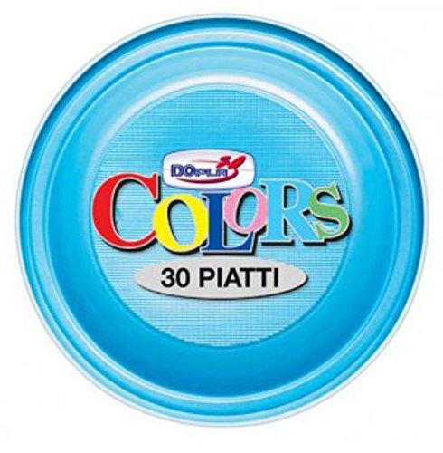 Piatti Piani X 30 Azzurri