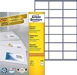 Avery Zweckform 3481 Universal-Etiketten (A4, Papier matt, 2,100 Etiketten, 70 x 41 mm) 100 Blatt weiß