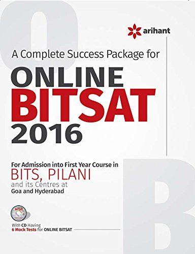 A Complete Success Package for Online BITSAT 2016