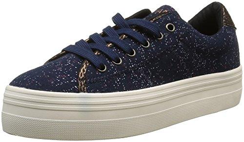 no-name-plato-sneakers-basses-femmes-bleu-rain-navy-fox-off-white-41-eu