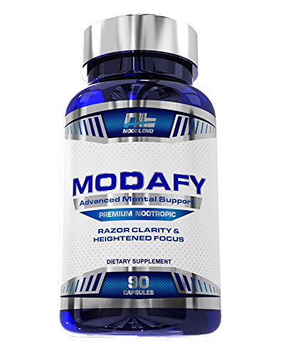 Modafy - NEW Premium Nootropic Brain Stack For