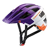 Fahrradhelm Mountainbike Helm Cratoni AllSet (violet-white-orange matt, 58-61)