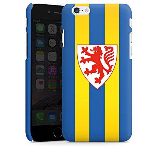 Apple iPhone X Silikon Hülle Case Schutzhülle Eintracht Braunschweig Fanartikel BTSV Premium Case matt