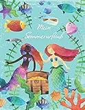 Mein Sommerurlaub: Reisetagebuch für Mädchen ab 6 Jahre - Urlaubstagebuch für...