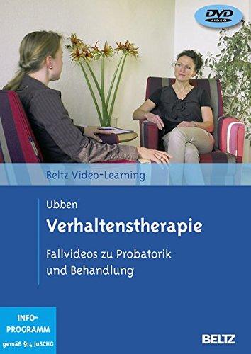Verhaltenstherapie. Fallvideos zu Probatorik und Behandlung, 2 DVDs