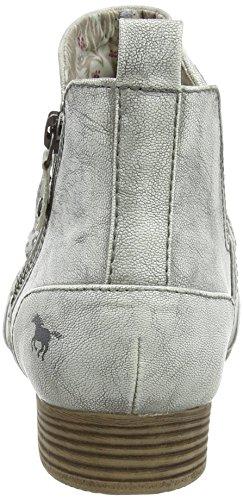 Mustang Damen 1176-504-203 Kurzschaft Stiefel Off White (203 Ice)
