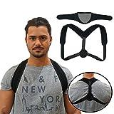 DIIBRA Haltungskorrektur Rücken + wärmender Nackenstütze | Geradehalter für Damen & Herren | Linderung bei Schulter- & Nackenschmerzen | Verbessert Haltung und schlaffen Gang | Posture Corrector