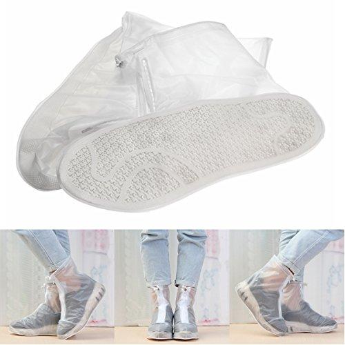 Wooya Reutilizable Zapato Impermeable Cubre Cremallera Botas Cargadores De Lluvia De para...