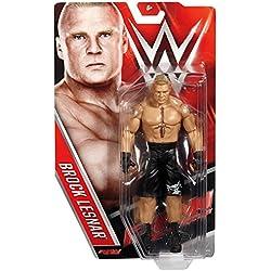 BROCK LESNAR - WWE SERIE BASIC 64 MATTEL GIOCATTOLO WRESTLING ACTION FIGURE