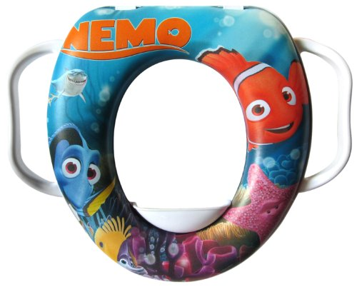 Lulabi Disney Alla Ricerda di Nemo Riduttore WC Soft, con Maniglie