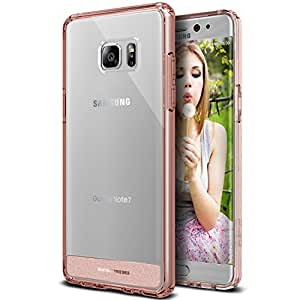 Galaxy Note 7 Case, OBLIQ [NaKED SHIELD][Rose Gold] Slim Fit Crystal Clear PC + TPU Armor Protection Hybrid case for the Samsung Galaxy Note 7 (2016)