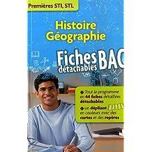 Histoire Géographie : Premières STI, STL