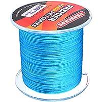 Dolity Sedal Alambre de Pesca Sensible Estiramiento Duradero Fuerte Pescador Apoyo de Azul Color