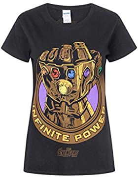 Avengers Infinity War Marvel Thanos Infinity Gauntlet Women'S T-Shirt