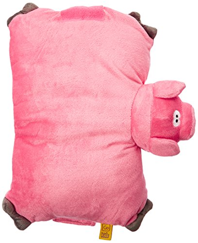 Go Travel - Pig Pillow (Assorted Colours)