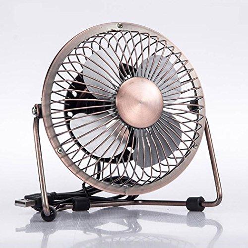 hventilator Sommer Ventilator Vintage Mehrzweck Desktop Personal Fan Lüfter für Zuhause Büro ()