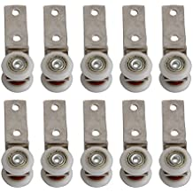 BQLZR - Herraje de 6,50 x 1,90 cm con rodamientos de metal