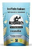 koawach Vanille Trinkschokolade mit Guarana Wachmacher Kakao - Bio, vegan und fair gehandelt (500g) - Neues Design