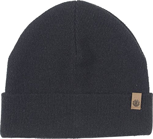 Element Herren Carrier II Beanie Mütze, All Black, M