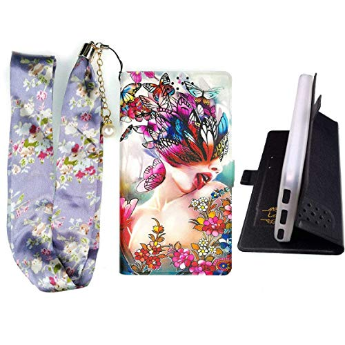Lovewlb Hülle für Thomson Delight TH201 Hülle Flip PU-Leder + Silikon Cover Case Fest HD