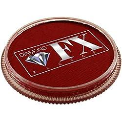 Diamond FX Essential Facepaint 30gm Cara Esencial Pintura - rojo