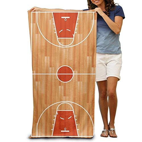 """RGFJJE Strandtücher Handtücher Basketball Court 100% Polyester Pool Towel Chair (31"""" X 51"""") Thick Soft Quick Dry Lightweight Towels Blanket"""