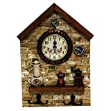 OnlineWorld Decorative wall clock / Raja...