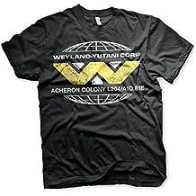 Camiseta de Aliens con Licencia Weyland Yutani Prometheus Sulaco