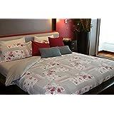 Juego de sábanas estampado GARDEN (para cama de 150x190/200)