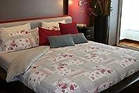 Juego de sábanas estampado GARDEN (para cama de 135x190/200)