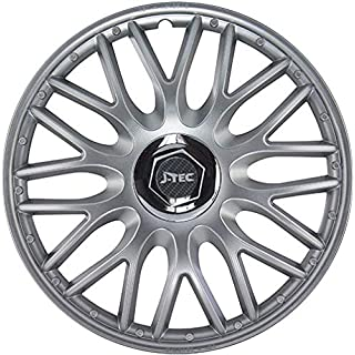 All4you Wheel Trims 14 Inch Pack of 4 Silver