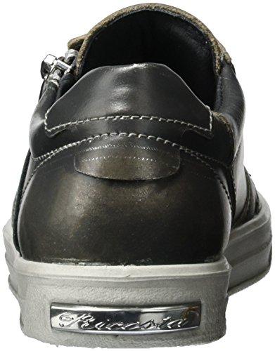 Ricosta - Ava, Pantofole Bambina Grau (meteor)