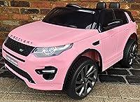 Licenza Land Rover Discovery HSE Sport-Questo top della Land Rover è uno dei più famosi stili intorno e ora i vostri bambini possono guidare uno, too. Questo alimentato a batteria, Ride on auto elettrica può essere guidato dal normale uso comandi u...