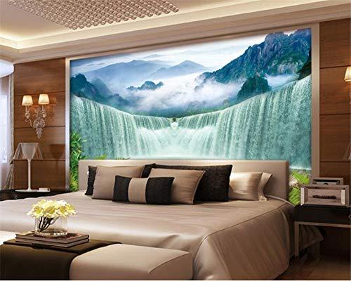 Mural Fotomural Alta Calidad Papel Pared Cuadros Fondos De Pantalla Personalizados Cascadas Acuarela Tv Fondo Sala De Estar Dormitorio Decoraciones De Pared 150 * 105 Cm