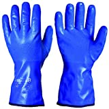 GRANBERG 114.0630W-10-1pair Nitrile Dipped Chemical Protection Category-3 Gloves, Winter Lined, Size 10, X-Large