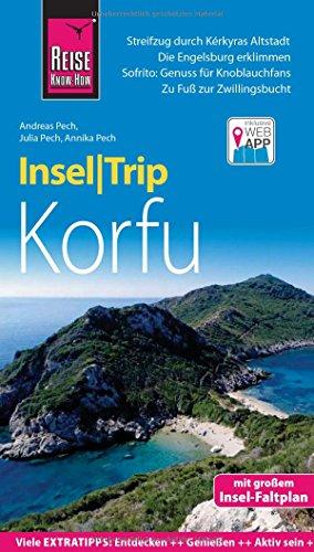 Preisvergleich Produktbild Reise Know-How InselTrip Korfu: Reiseführer mit Insel-Faltplan und kostenloser Web-App