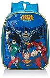 DC Justice League 9825029HV 33cm Batman/Superman/Green Lantern e flash, zaino per bambini