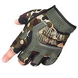 QIYUN.Z Outdoor Männer Militärischen Harten Knöchel Halben Finger Camo Handschuh Taktischen Rüstung Handschuhe