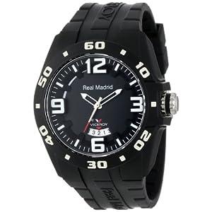 Viceroy 432851-55 Reloj Deportivo del Real Madrid de plástico Negro con