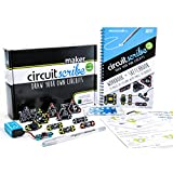 Venel--Circuit Scribe Maker Kit Contains A Pen, Eleven Modules, A 9V Battery,To Improve Your Circuit Drawing Experience. Include Light, Timed Circuits, Piezoelectric Materials
