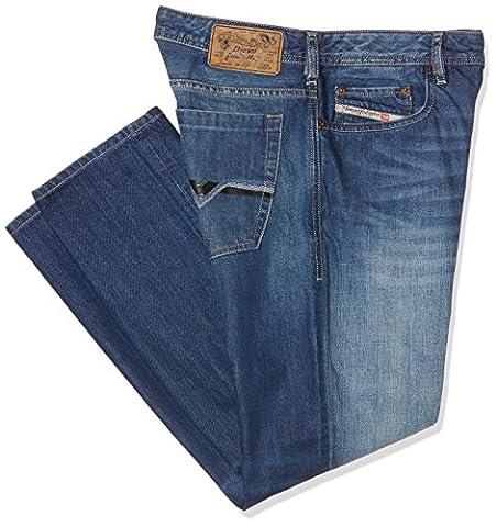 Diesel Zatiny Pantaloni, Jean Coupe Bootcut Homme, Blau (Medium Blue 008XR), 31W x 30L